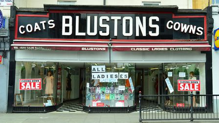 Blustons is closing down...again!
