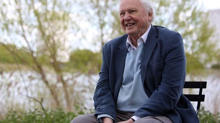Sir David Attenborough at the Launch of the London Wildlife Trust's new flagship nature reserve, Woo