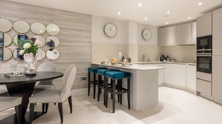 The apartment layouts offer flexible accomodation and come with high spec kitchens