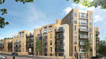 Highgate Court's one, two and three bedroom apartments are on the market with Bellway