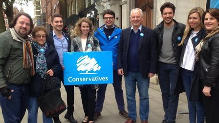 Lord Francis Maude with Hampstead and Kilburn Conservatives on Saturday