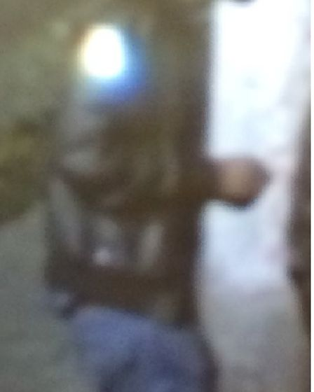 The man police wish to speak with in connection with the brawl. Picture: MPS