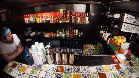 The El Bandito Pop-Up menu will feature an impressive collection of approximately 50 tequilas and 25