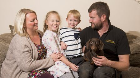 Poppy Overy,7, has overcome multiple cavernomas and is now a member of the Cavernoma Alliance.Poppy