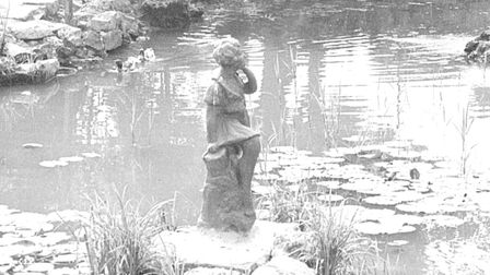 The Peter Pan statue in Kensington Gardens, Lowestoft. Where is it now?
