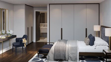 The apartments start at �570,000 and are in zone one