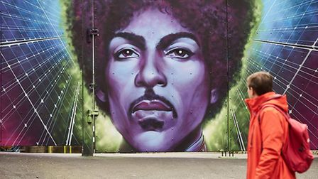 Prince mural unveiled in Camden
