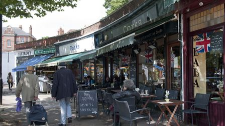 Swain's Lane in Highgate runs through an area that shows stark differences in deprivation levels