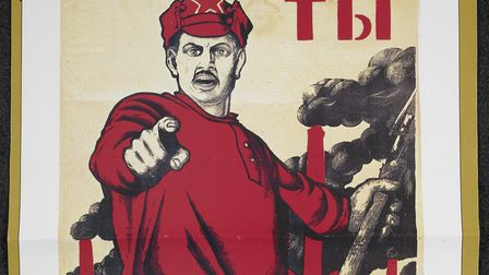 Red Army poster. Picture: British Library