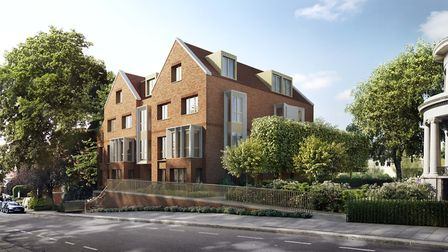 Appartments and a townhouse in Willoughby, Hampstead Manor is on the market from �755,000