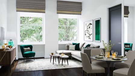 The Linton Group is refurbishing 5A Cuthbert Street in Paddington, where prices start at £570,000