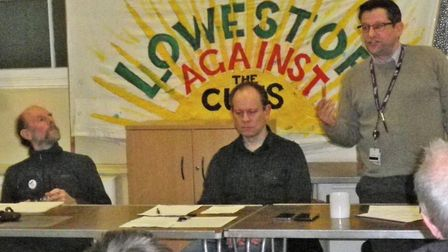 Lowestoft Coalition Against The Cuts held a public meeting to discuss the STP. Picture: Courtesy of