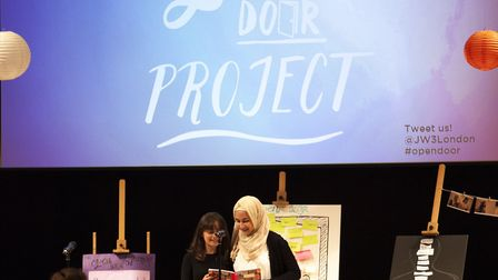 An empowerment programme has brought together teenage girls from Muslim, Jewish and Christian backgr