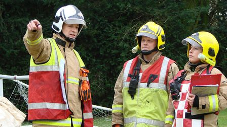 Suffolk is holding taster days to enable people to find out about the work of Firefighters. Picture:
