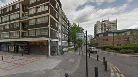 The first woman was attacked after entering Scriven Street from Haggerston Road. Picture: Google Str