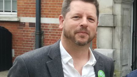 Sam Hall of the Green Party. Picture: Haringey Greens