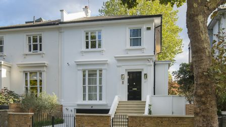 The property on Springfield Road, St John's Wood is on the market with Aston Chase for £6,500,000