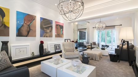 The interiors of the Springfield Road property have been designed by Kelly Hoppen