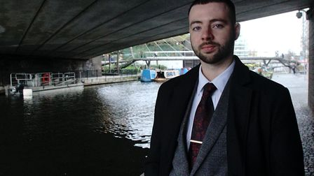 Jason Evans, 27, whose father Jonathan died in 1993 after being given HIV-infected blood products. P