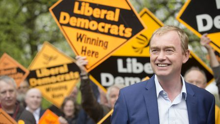 Tim Farron launched the Liberal Democrat manifesto for the General Election in June 2017 on Wednesda