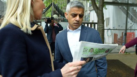 Editor Emily Banks asks Sadiq Khan for a reponse to this week's front page on an epidemic rise in mo