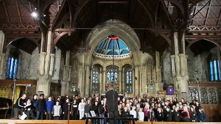 The Camden Music Youth Choir CD was launched at Camden School for Girls over the weekend.