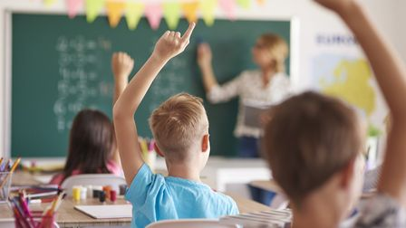 The number of applicants for teacher training have dropped dramatically over the last three years. P
