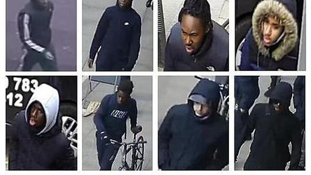Detectives have released images of eight people they would like to speak to in connection with the s