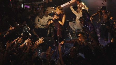Madonna performing at KOKO to launch her album 'Confessions on a Dancefloor in 2005. Photo: Yui Mok