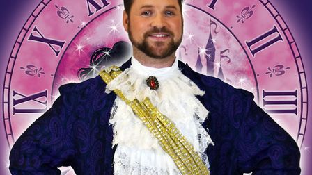 Craig Loxton is set to play the role of the handsome prince. Picture: The Lowestoft Players