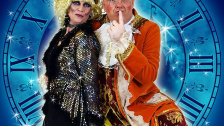 The pantomime will see Howie Foster play the wicked stepmother, Baroness Hardup, while James Aitkin