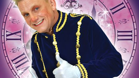 John Marjoram will be appearing as the lovable Buttons for the third time. Picture: The Lowestoft Pl