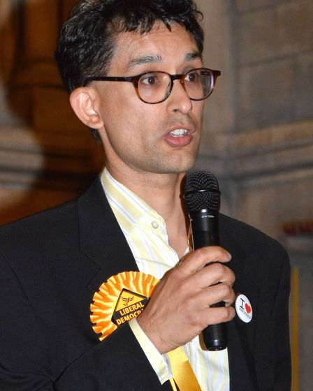 Liberal Democrat Dave Raval. Picture: Polly Hancock