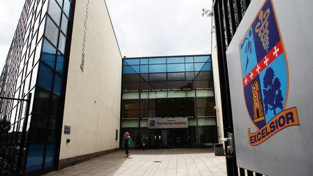 A file image of the Petchey Academy in Shacklewell Lane, Dalston. Picture: Isabel Infantes