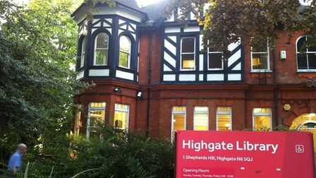 Attendees at Highgate Library Action Group's annual general meeting greeted plans to move the 110-ye