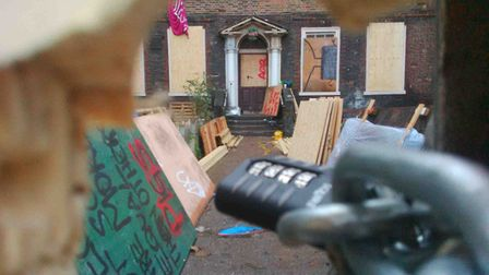 Squatters were evicted from the building in 2013. Picture: Rossana Tich