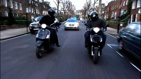 Moped-riding thieves are causing fear and frustration among residents. Picture: MPS