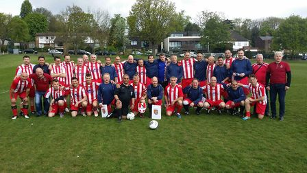 St Aloysius Veterans hosted Croatian side NK Sracinec Veterani as part of the ongoing relationship b