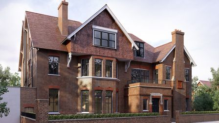 Otto Schiff's house has been restored to its original Victorian Gothic revival grandeur