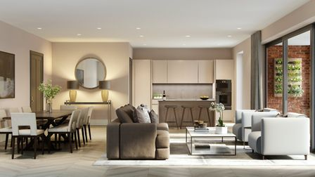 The apartments at 14 Netherhall Gardens will be larger than most London houses
