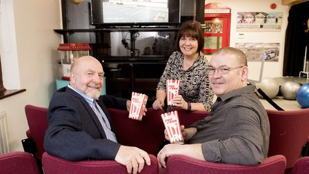 Ivan Johnson (right), Carol Johnson and Clive Morris have converted the former Oulton medical centre