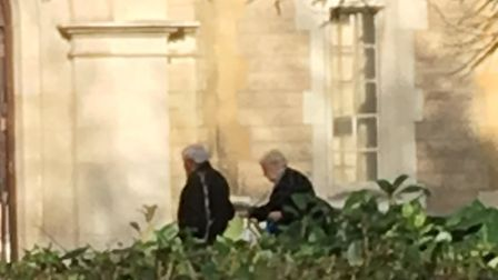 Valerie and Roy Stannard arriving at Snaresbrook Crown Court last month.