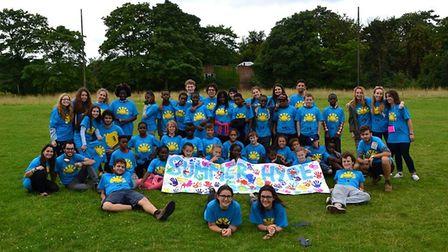 The team at Summer Hype want to provide Hackney schoolchildren who would not normally have a summer