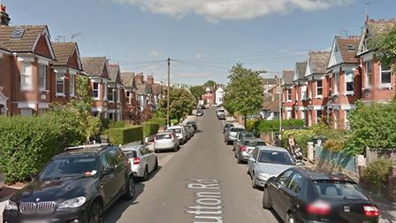 A man who spent nine hours on rooves following a reported assault in Sutton Road has been detained u