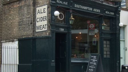 The Southampton Arms in Kentish Town has been named North London's Cider Pub of the Year after many