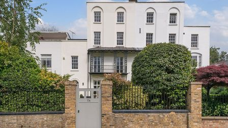 Downshire Hill is on the market with Chestertons at a guide price of �5.75M