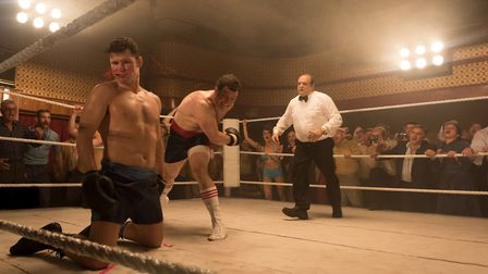 My Name is Lenny starring Josh Helman and Michael Bisping. Picture: Rob Youngson/Lionsgate UK