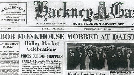 The Gazette story from 60 years ago