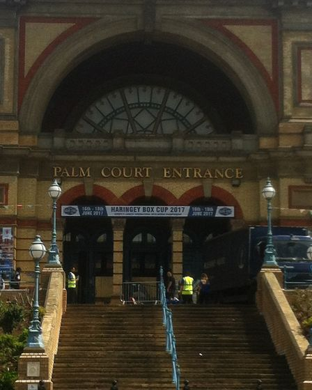 The Haringey Box Cup is held at Alexandra Palace