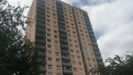 Landmark Heights in Daubeney Road will no longer be re-clad until more is known about the Grenfell T